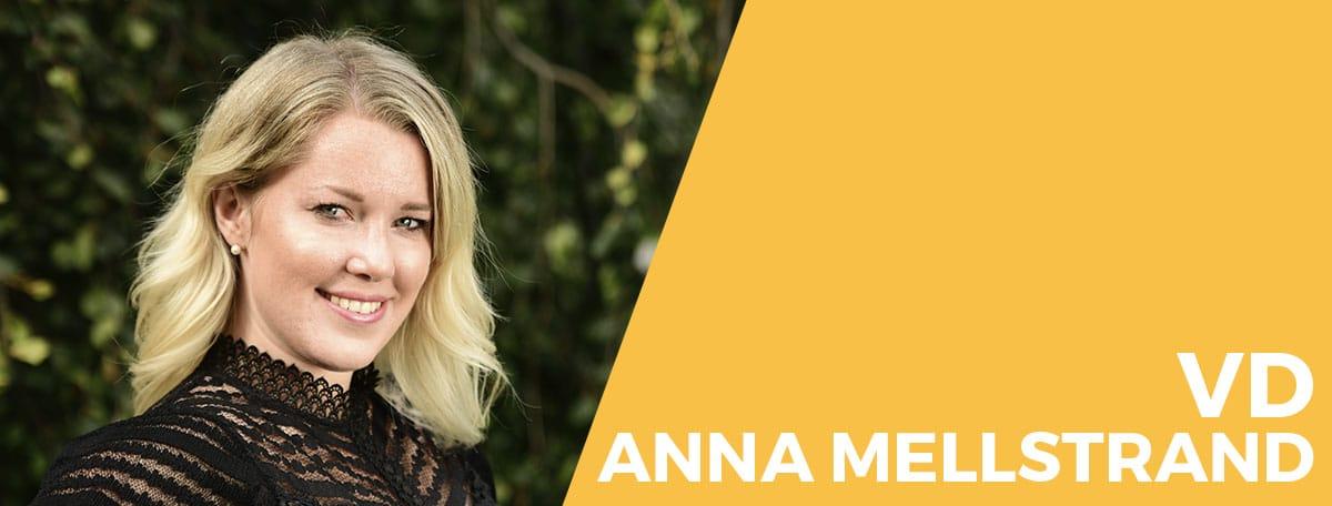 Porträttbild av Anna Mellstrand