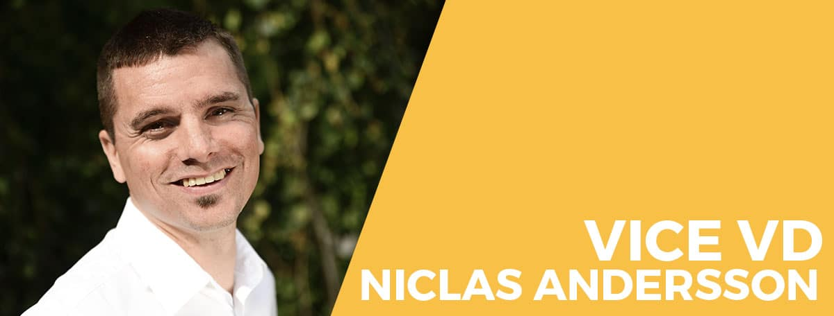 Porträttbild av Niclas Andersson