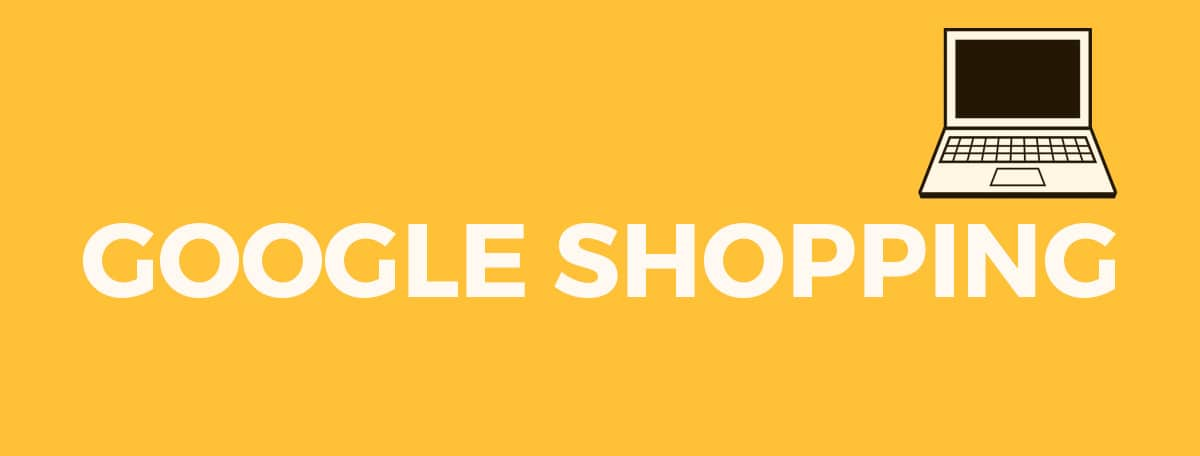 laptop med google shopping