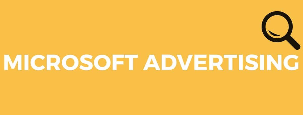 Sökannons på Microsoft Advertising