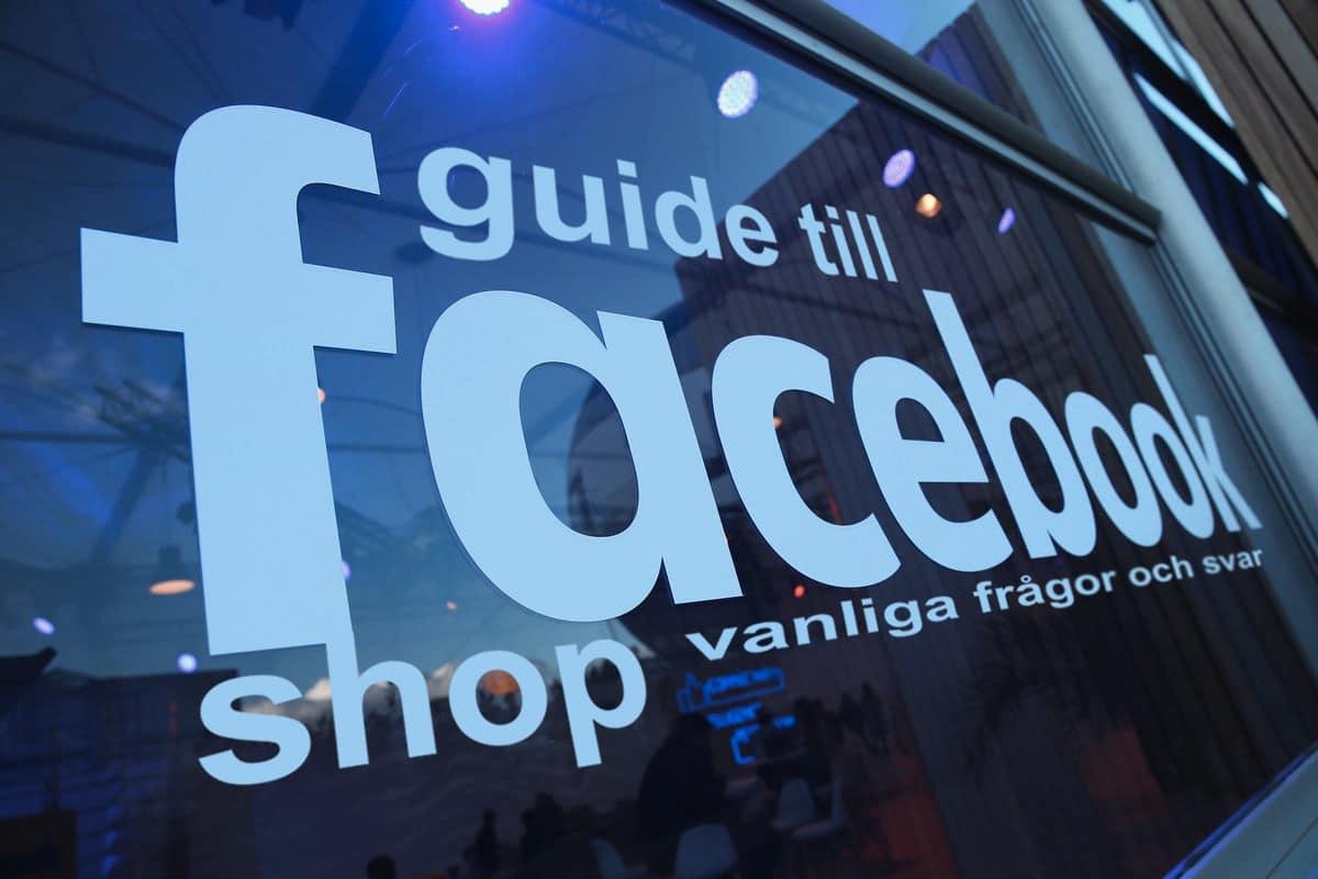 Guide till facebook shop